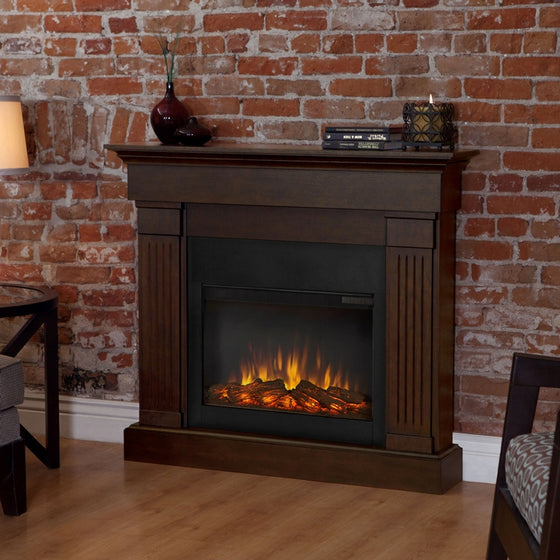 Real Flame 8020E Crawford Slim Electric Fireplace