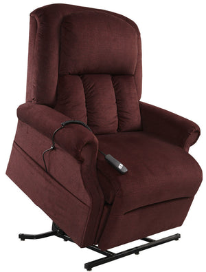 Mega Motion Heavy Duty Lift Chair - Easy Comfort Superior Bordeaux