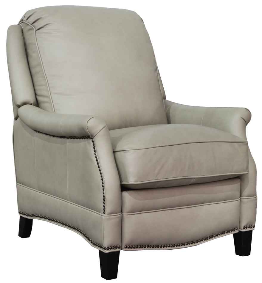 barcalounger ashebrooke leather recliner