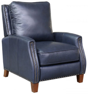 Barcalounger Melrose Small Scale Leather Recliner