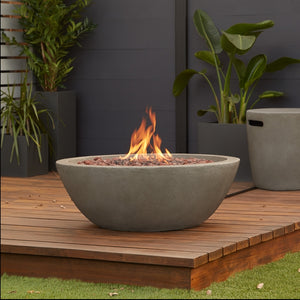 REAL FLAME C539LP RIVERSIDE GAS FIRE BOWL W/NG CONVERSION KIT