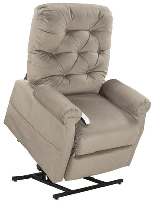 Easy Comfort Classica 3-position Electric Lift Chair Recliner camel