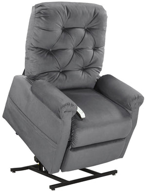 Easy Comfort Classica 3-position Electric Lift Chair Recliner charcoal