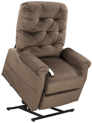 Easy Comfort Classica 3-position Electric Lift Chair Recliner chocolate