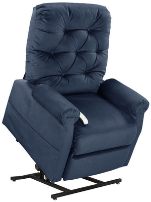 Easy Comfort Classica 3-position Electric Lift Chair Recliner navy