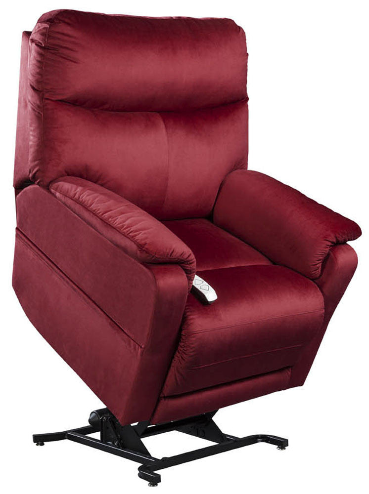 Windermere Cloud 1750 Power Lift Chair Recliner Crimson