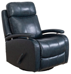 Barcalounger Duffy Swivel Glider Leather Recliner