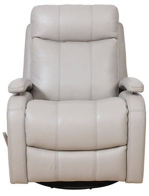 Duffy Swivel Glider Leather Recliner