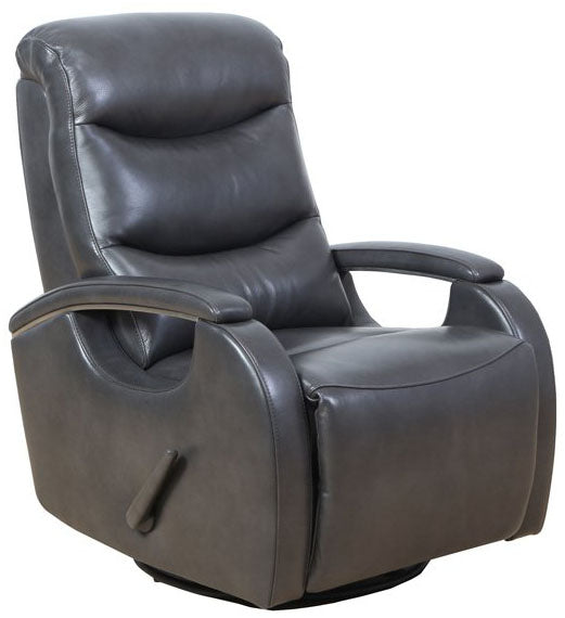 Barcalounger Fallon Swivel Glider Leather Recliner