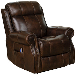 Langston Leather Power Recliner Lift Chair