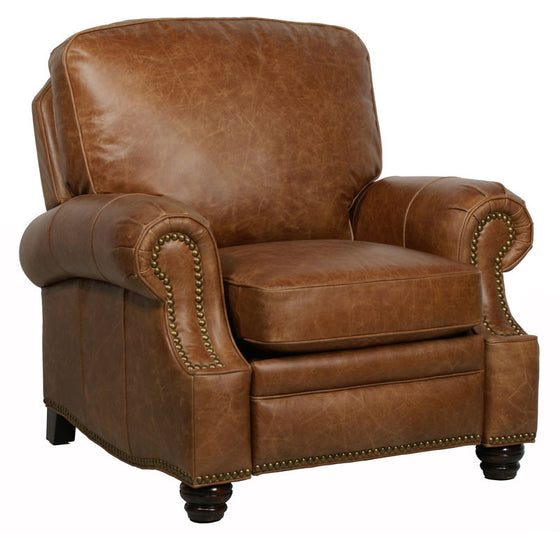 Barcalounger Longhorn II Top Grain Leather Recliner