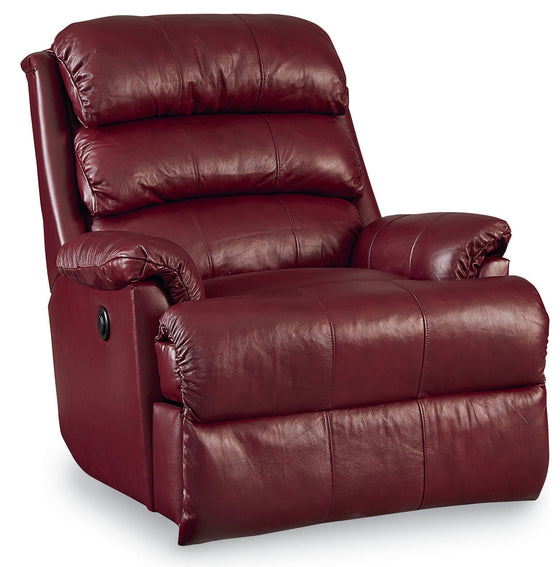 Lift and Massage Chairs Lane Revive Leather Rocker Recliner Burgundy