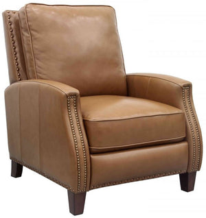 Melrose Small Scale Leather Recliner
