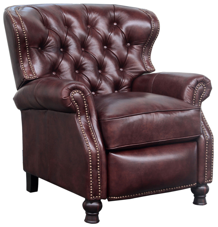 Barcalounger Presidential Ii Leather Recliner Grain