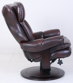 Barcalounger Roscoe Pedestal Chair and Ottoman