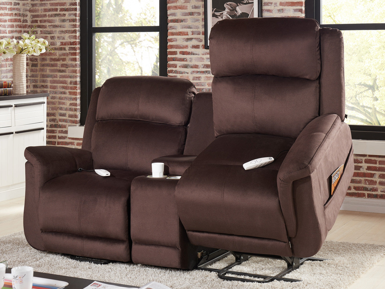 comfortlift hampton dual lift chair loveseat