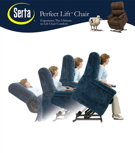 ComfortLift Winston Lift Chair Lay Flat Recliner  sc 1 st  Lift and Massage Chairs & Serta Comfort Lift Chair | Full Recliner Chair - Lift and Massage ... islam-shia.org