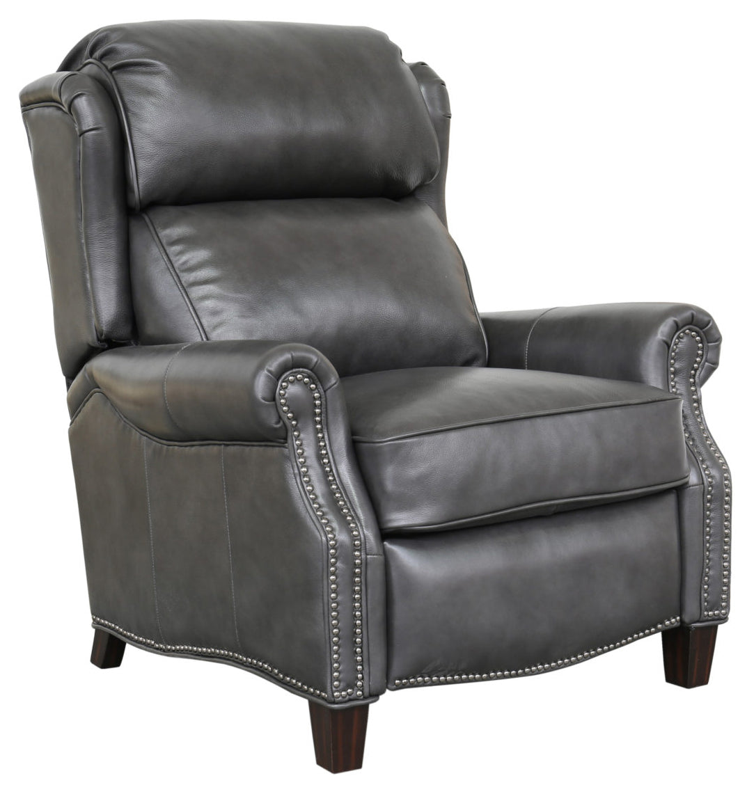Picture of: Meade Recliner Wing Back Leather Chair Barcalounger Recliner Lift And Massage Chairs