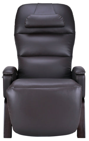 Svago Lite Zero Gravity Recliner - by Cozzia (brown with dark walnut finish)