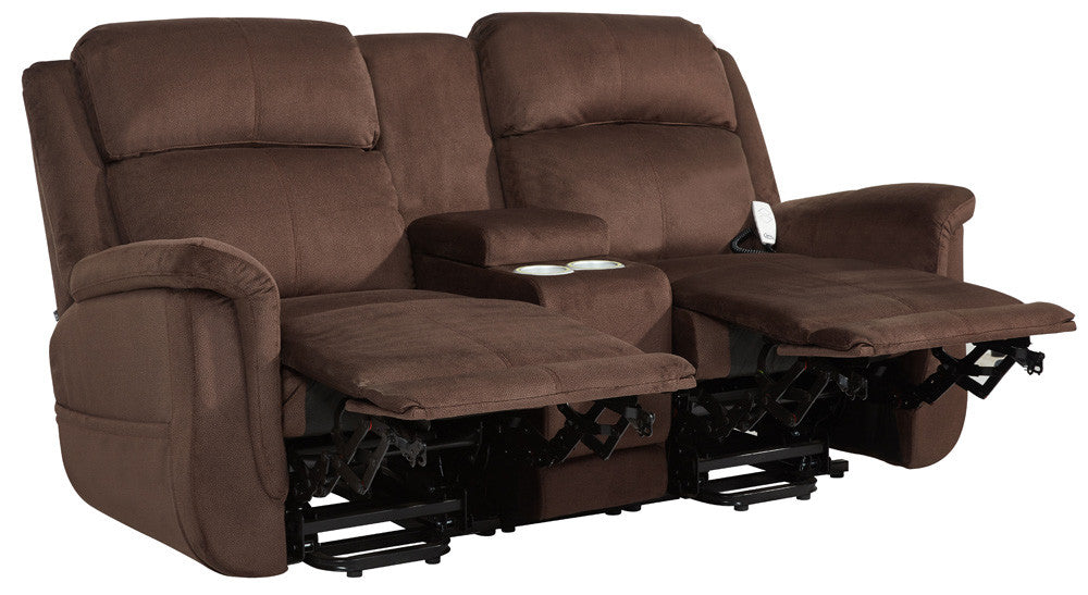 Power Lift Loveseat Double Recliner Loveseat Lift And