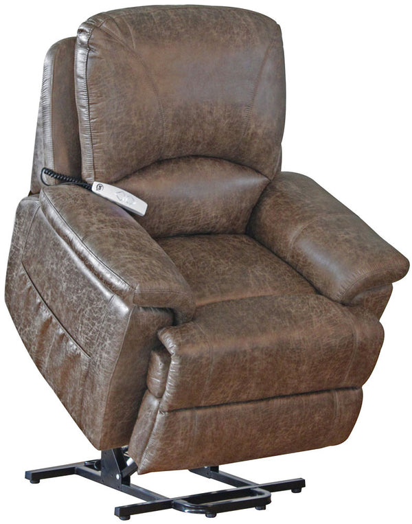 Leather Power Lift Recliners Wall Hugging Recliners