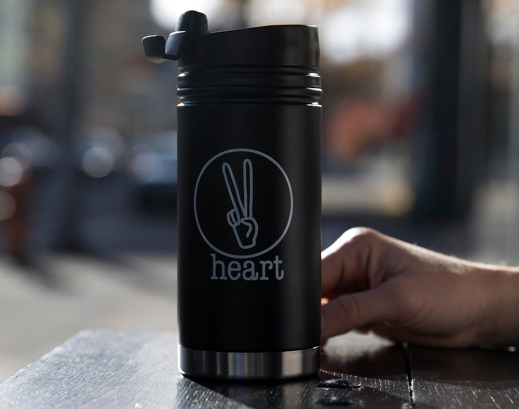 heart roasters custom bottle