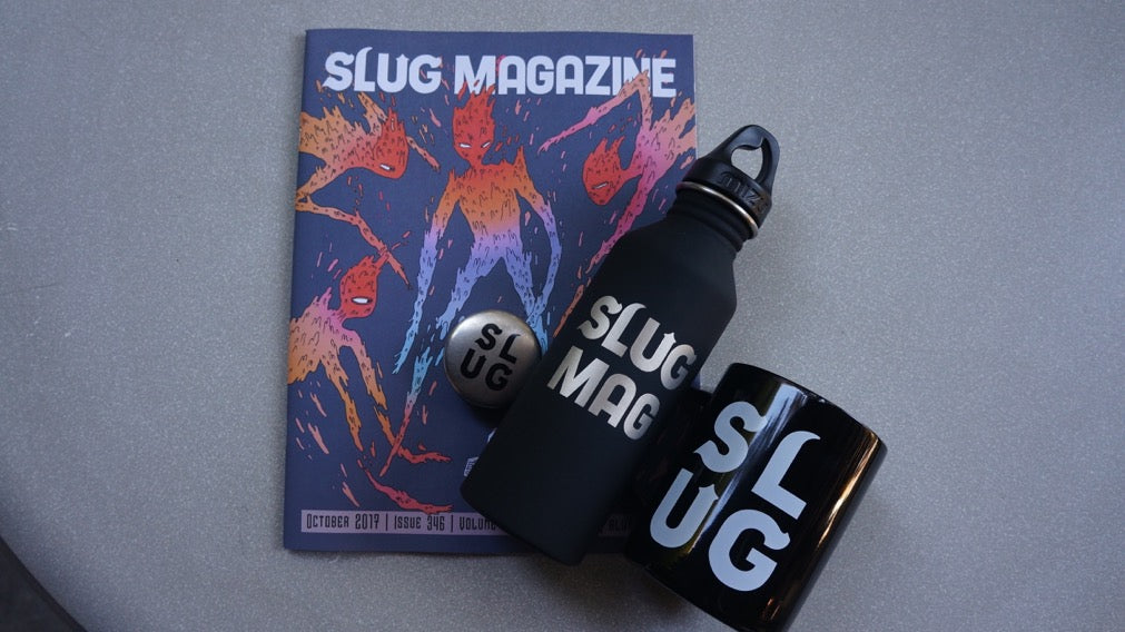 mizu slug mag custom of the week