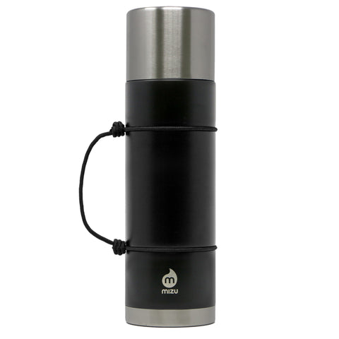 22 oz thermos bottle stainless insulated black