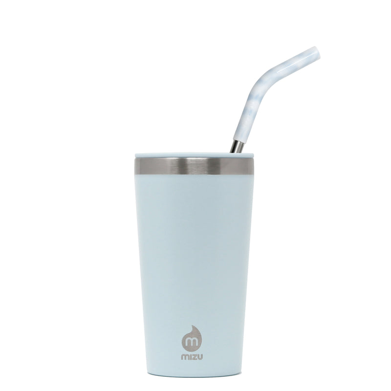 TUMBLER 16 with STRAW