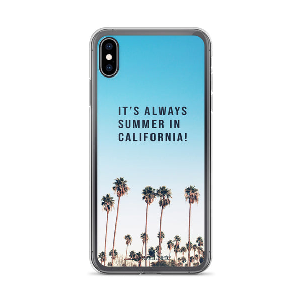 California iPhone Case - azul Siete