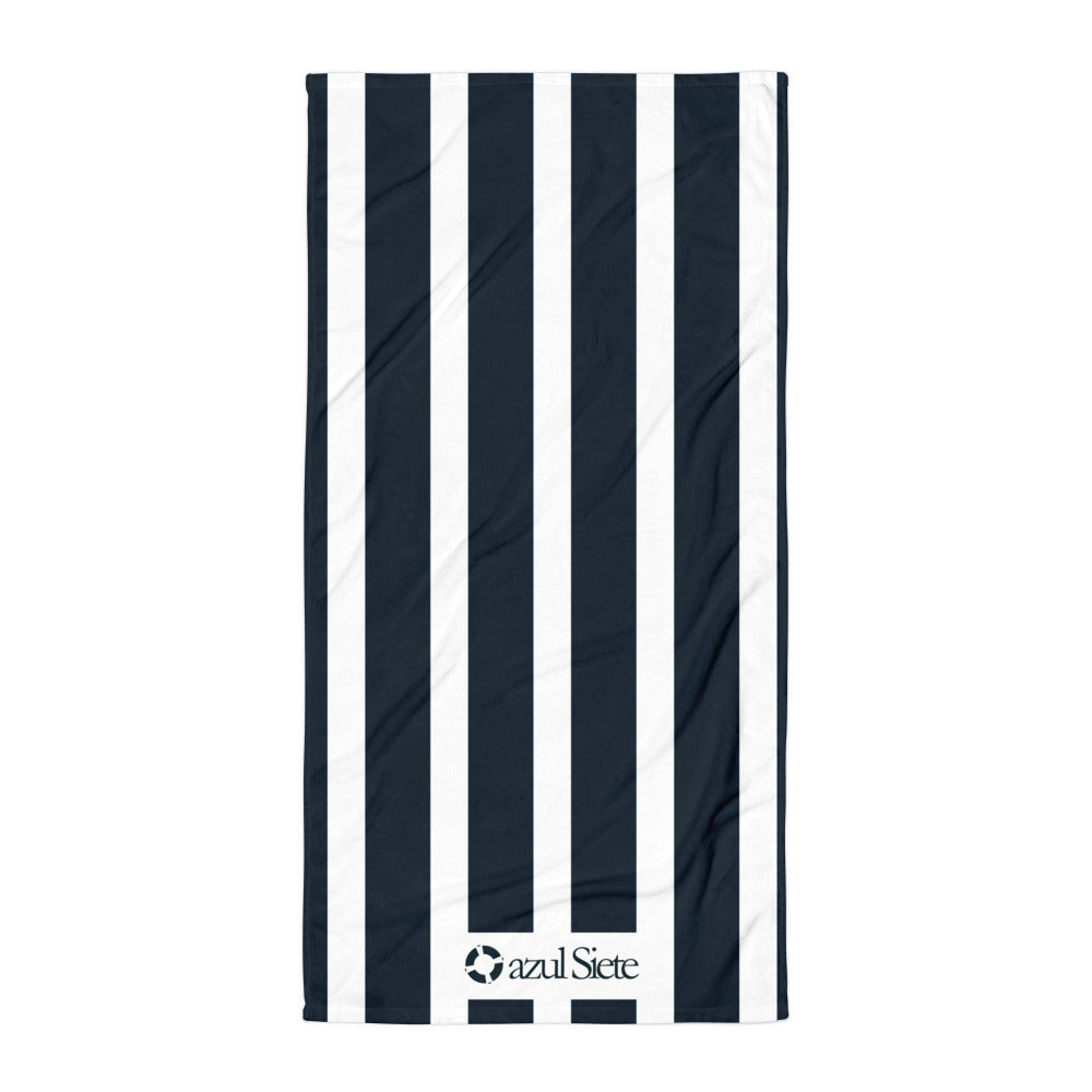 Stripes Beach Towel - azul Siete