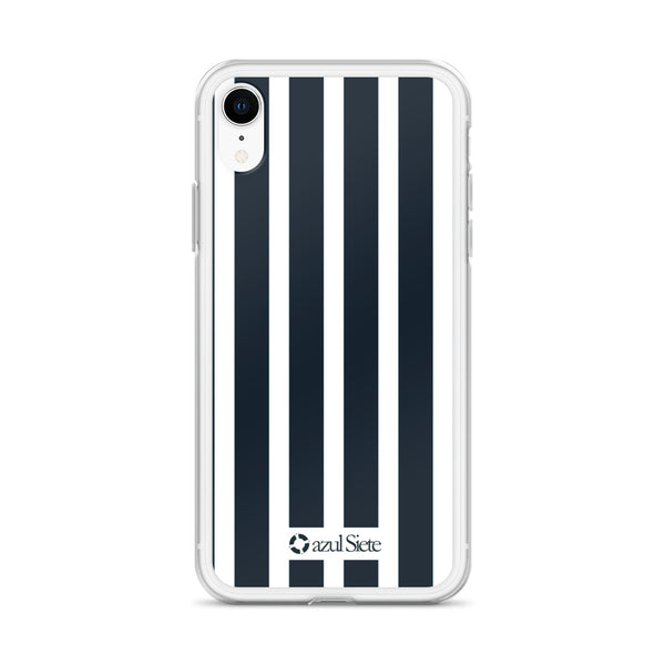 Stripes iPhone Case - azul Siete