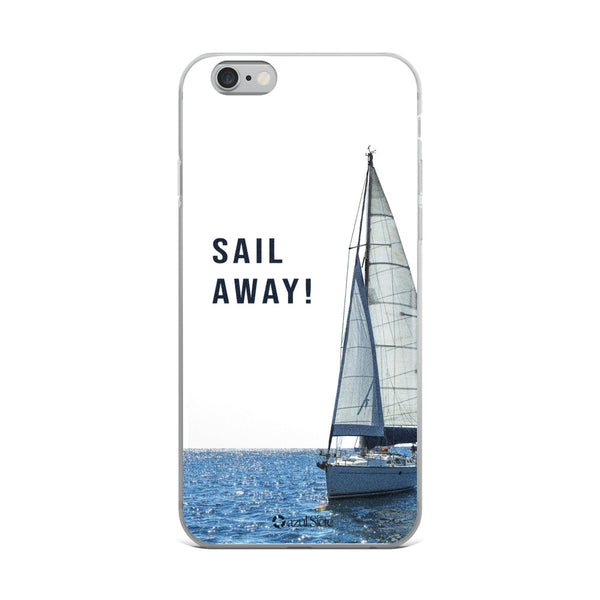 Sail Away iPhone Case - azul Siete