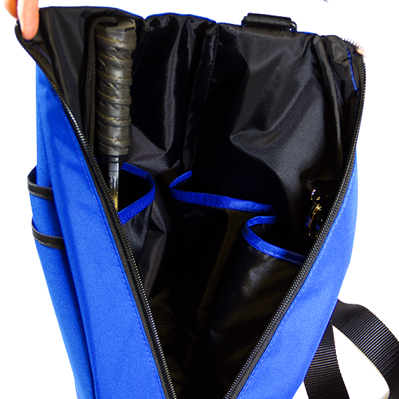 Pickleball Backpack-  - Blue/Black Lining