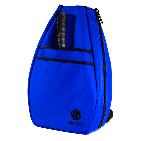 Pickleball Backpack - Blue with Black Lining