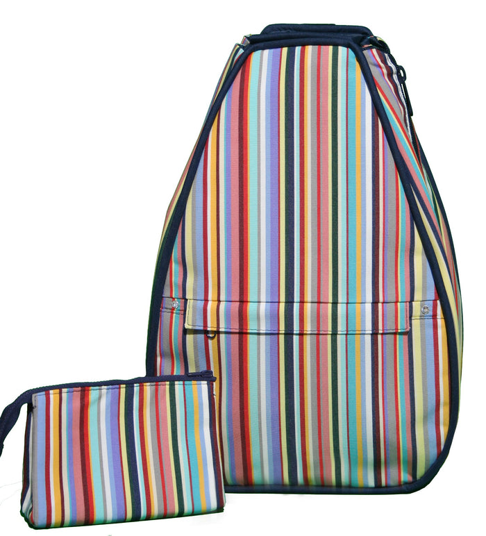Elizabeth Backpack - Yuppie Stripe