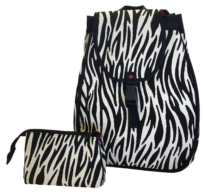 Maddie Backpack - Zebra