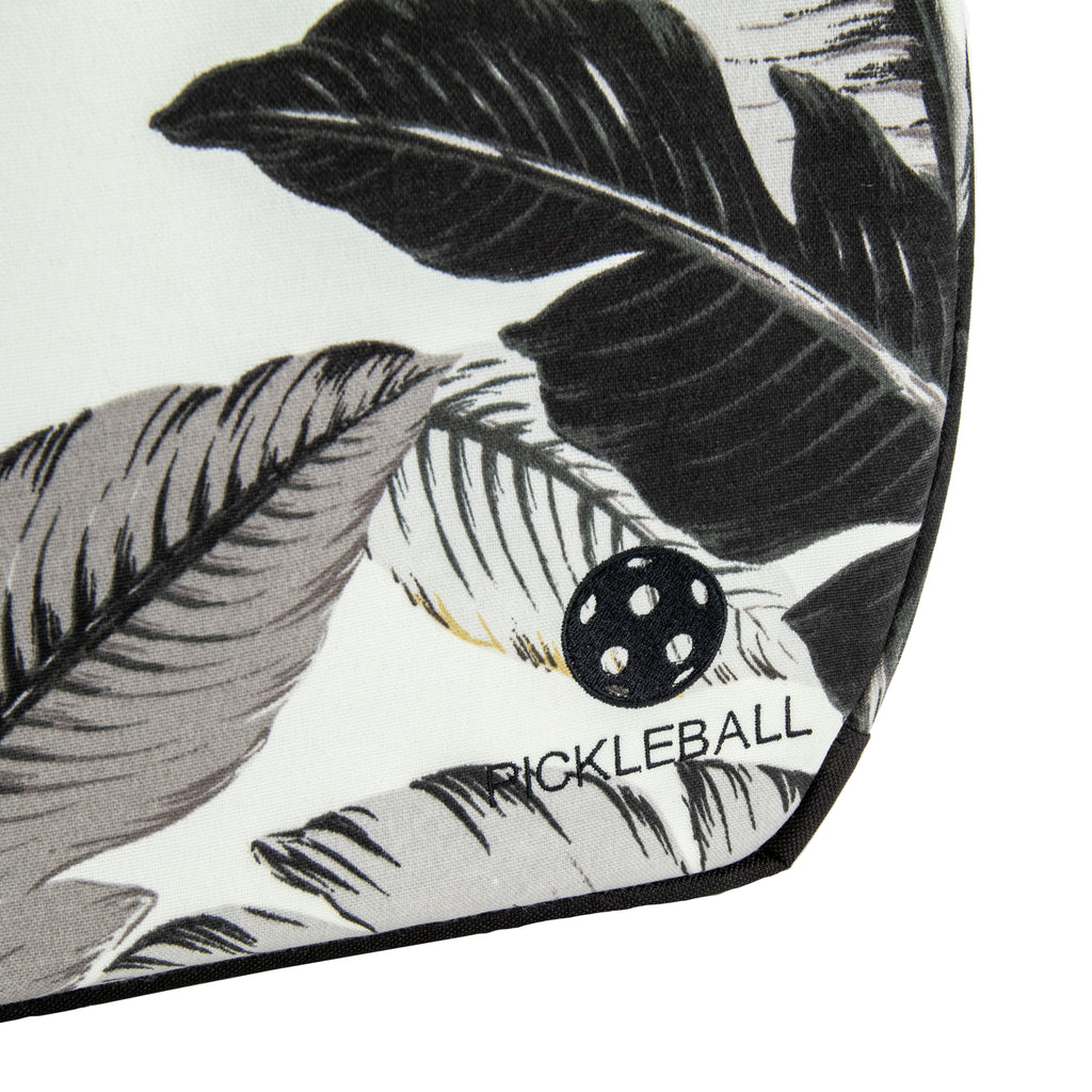 Pickleball Backpack - Palms with Black Lining
