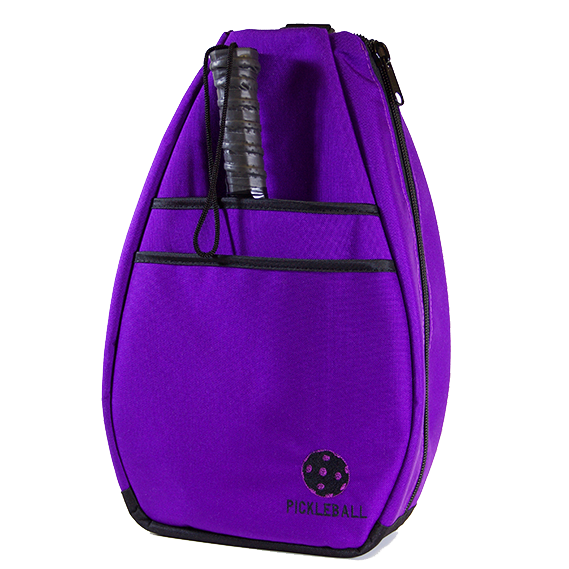 Pickleball Backpack -  - Purple/Black Lining