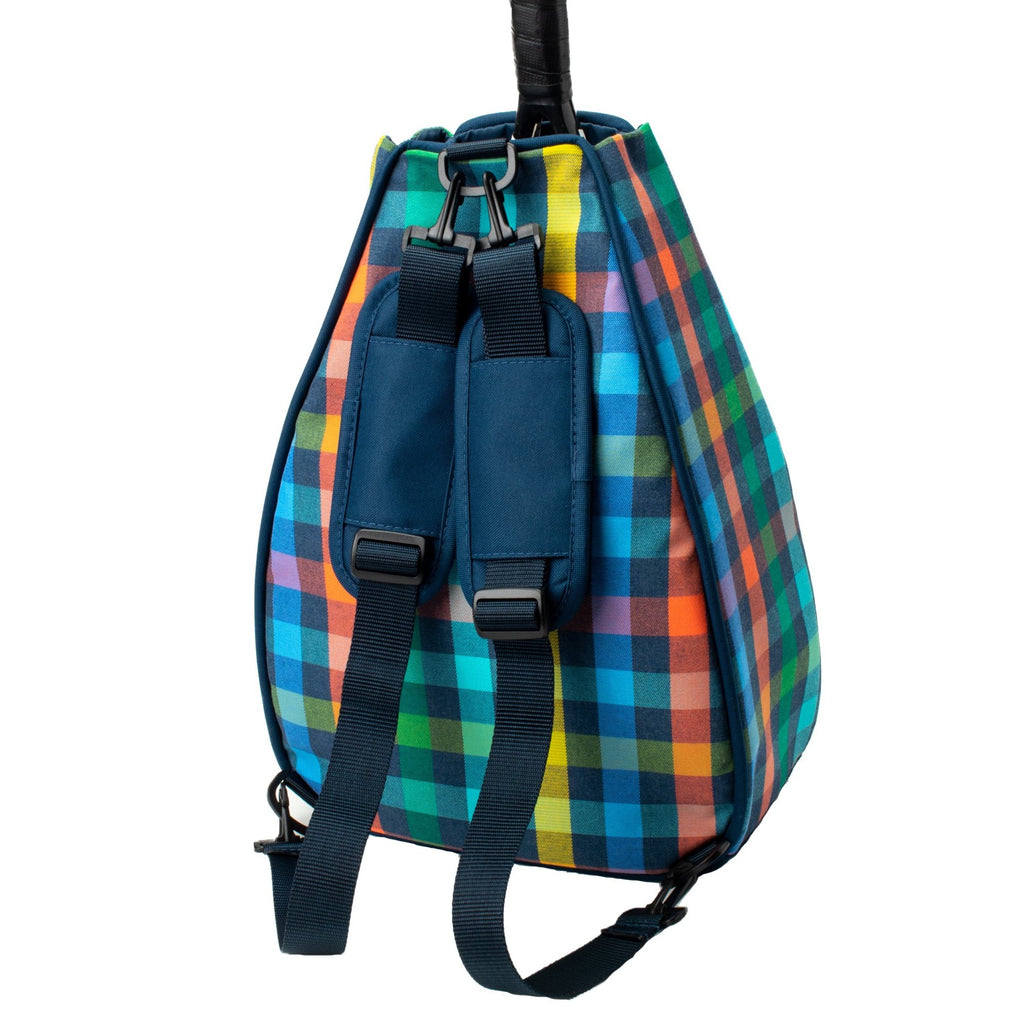 Sophi Backpack - Colorful Plaid