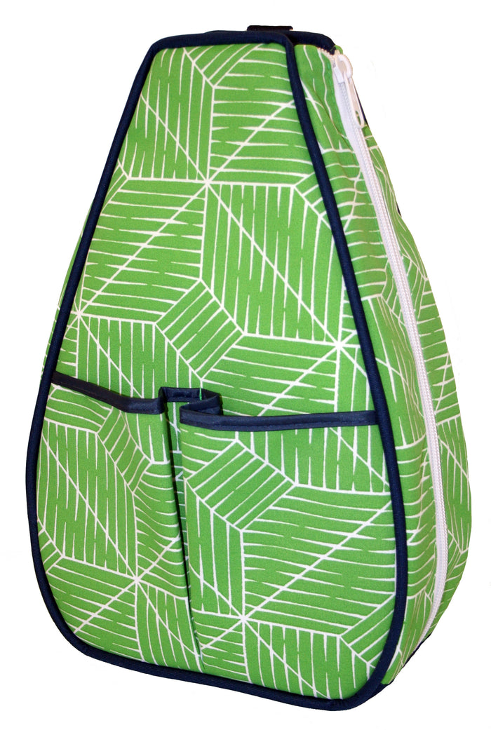 Sophi Backpack - Green Grid