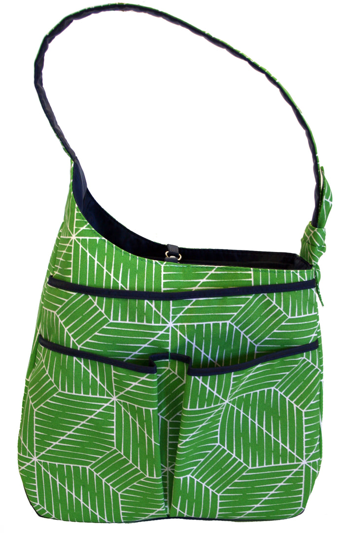 Sophi Hobo - Green Grid