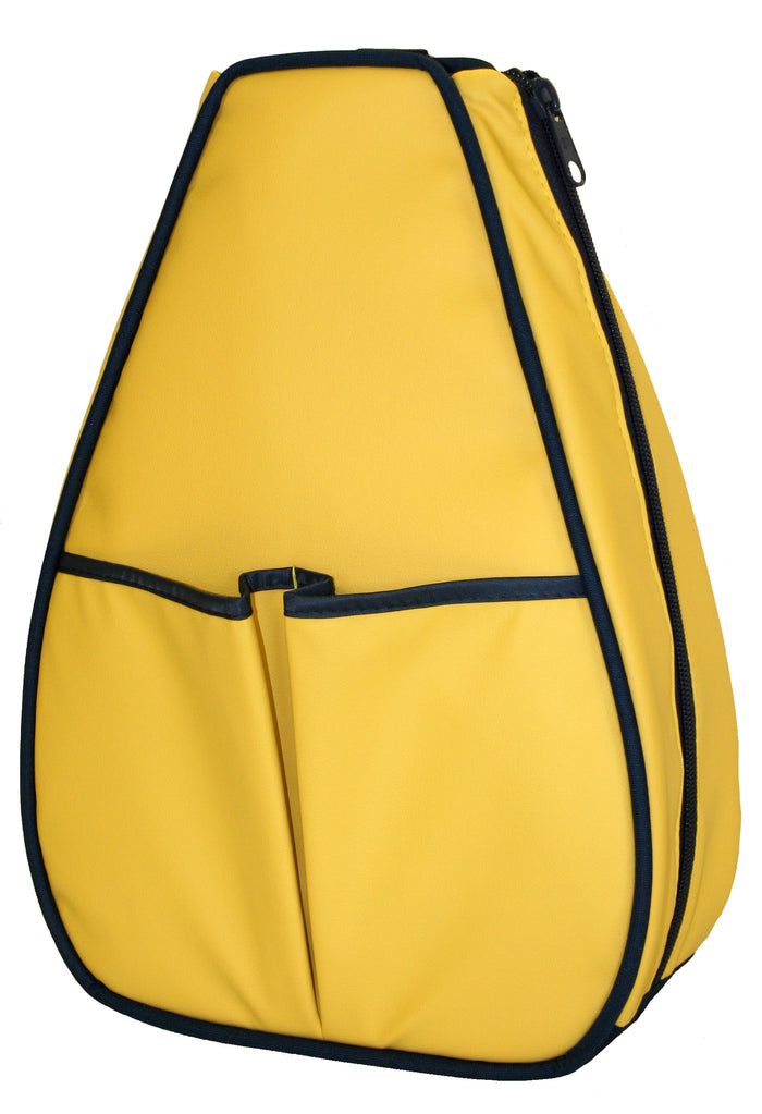 Sophi Backpack - Yellow Faux
