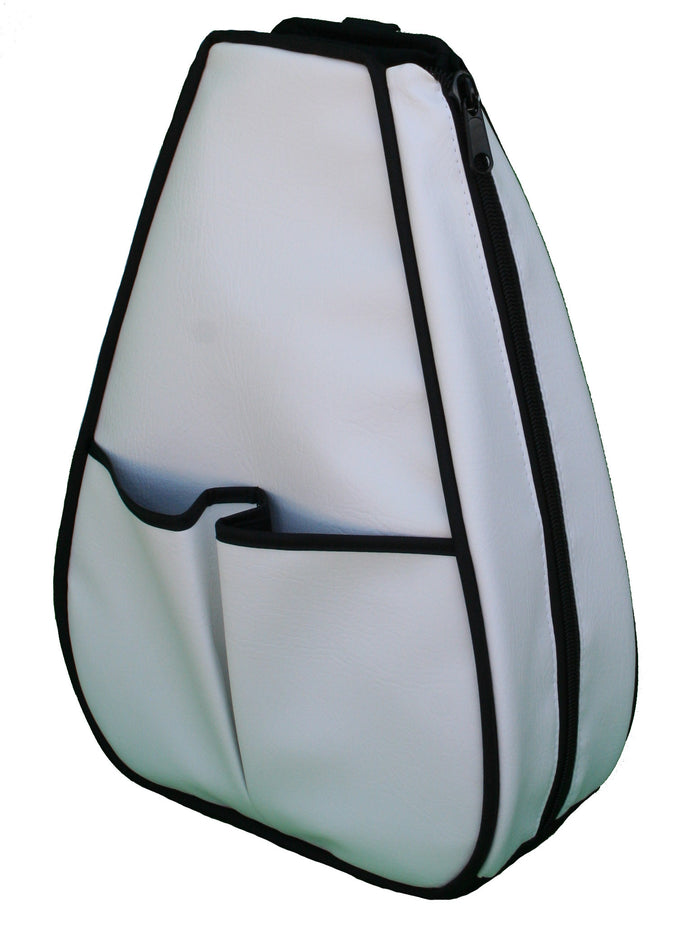 Sophi Backpack - White Faux Leather