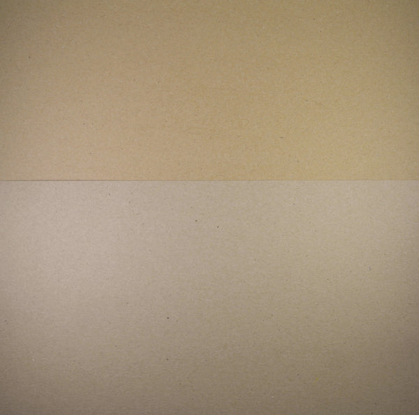 Scrapbook Card 12x12 - Brown Kraft 280gsm Recycled