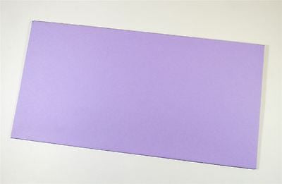 Colorplan Envelopes DL 110 x 220 mm Peel & Seal Wallet Flap Lavender 25 pack