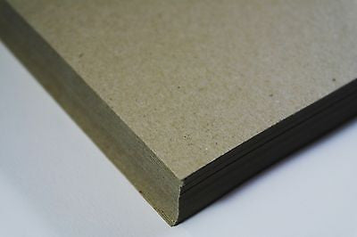 Eco Kraft Paper A5 130 GSM Brown 100% Recycled 50 Sheet Pack