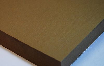 Colorplan Linen Embossed Craft Card - A4 270 GSM 25 Sheet Pack