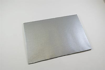 Premium Quality C6 Metallic Silver Envelopes 114 X 162mm P&S 120gsm 25 & 50 pack