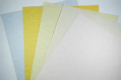 Certificate Paper A4  - 100 GSM -  Lorenzeo - Rose, Topaz, Blue Ochre 1 to 100 packs